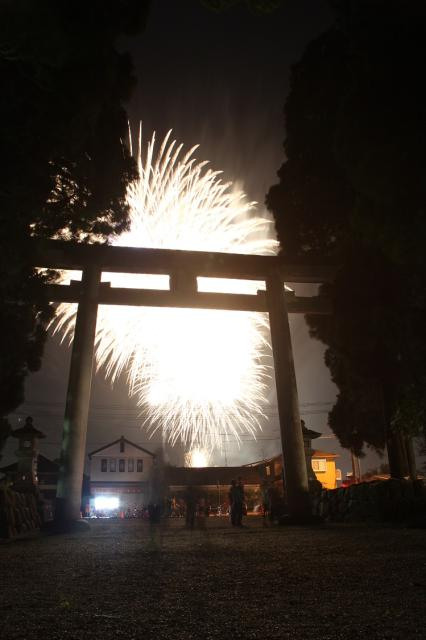つの町民花火大会
