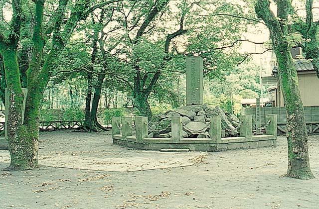 西郷隆盛誕生地の碑