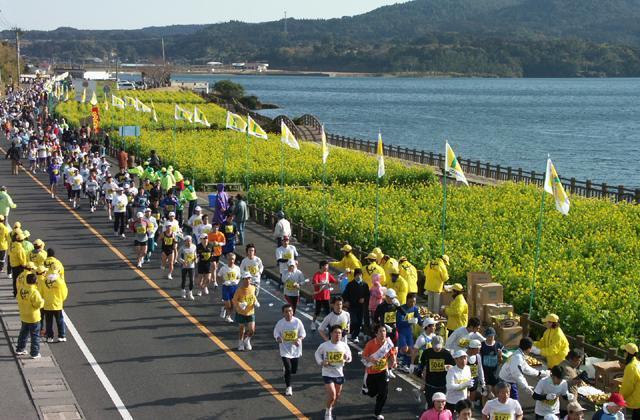 第39回いぶすき菜の花マラソン大会