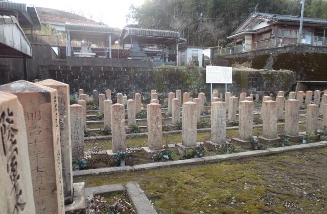 岩川官軍墓地