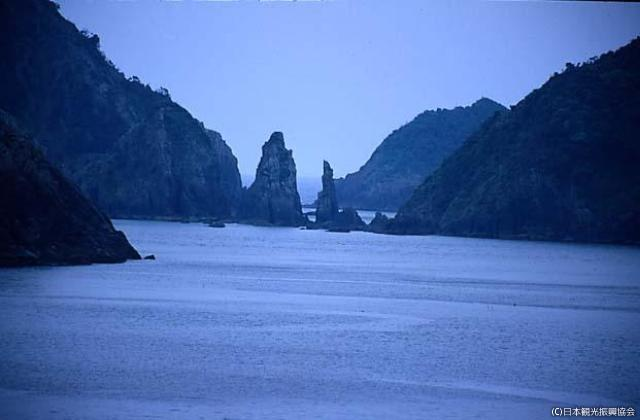 Twin Sword Stone Must See Japan Minamisatsuma Shi Japanese