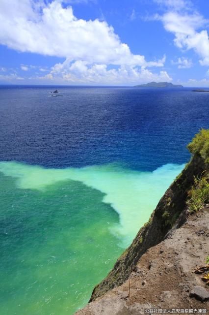 硫黄島の海