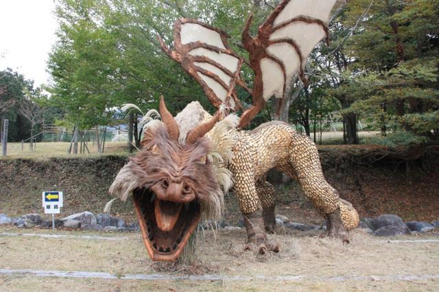 湧水町高原フェスタ・彫刻造形展