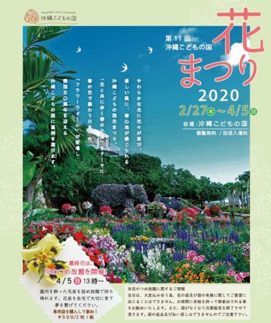 The eleventh Okinawa Kodomonokuni flower Festival 2020