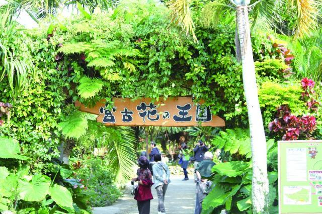 Miyakojima Shi Tropical Zone Botanical Garden