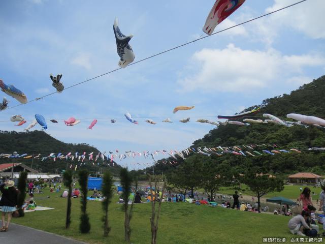 【2021年開催中止】奥ヤンバル鯉のぼり祭り