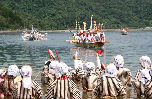 鹽屋灣的ungami(海神節日)