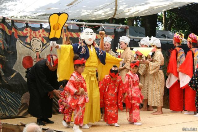 小浜島結願祭1