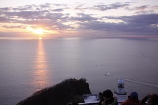 地球岬初日の出