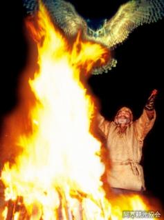 イオマンテの火まつり