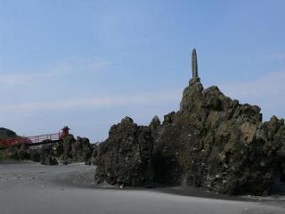 黒岩の奇岩