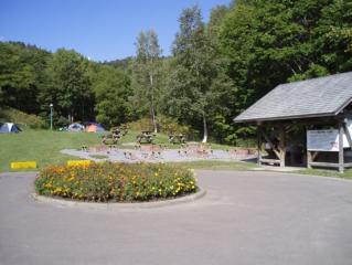 旭ケ丘公園キャンプ場