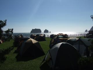 親子岩ふれ愛ビーチキャンプ場