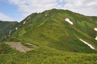 石狩岳連峰