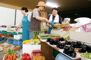 土日新鮮野菜市場 道の駅 さらべつ