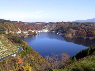 世増ダム(青葉湖)