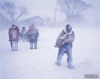 地吹雪体験