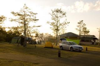 階上岳つつじの森キャンプ場