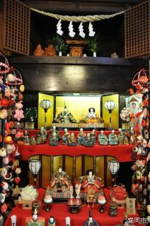 Doll's Festival of Lunar Calendar in the Morioka Town Houses