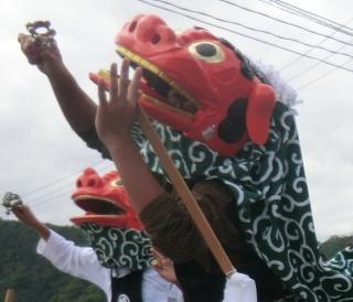 大神楽(岩手県大槌町)