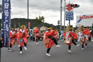 山田しし踊り