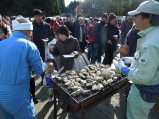 リアス牡蠣まつり唐桑