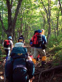 蛤山ハイキングコース