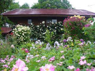 蔵王ペンション村 オープンガーデン 山の秋の庭