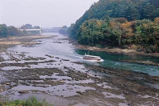 最上川(山形県村山市)