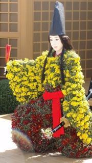 菊人形展2
