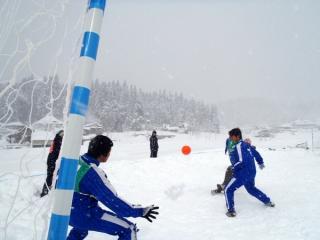 モンテディオ山形杯 雪中棚田サッカー大会in大蕨