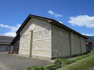 旧小坂村産業組合石蔵
