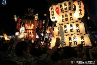 石都々古和気神社例大祭 御神輿パレード