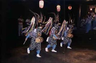 熊川稚児鹿舞