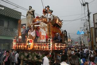 【2021年開催中止】柿岡のおまつり(八坂神社祇園祭)