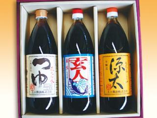 丸大豆しょうゆ(三年熟成・源太・まろやか・上ホ・玄人・つゆ・卵に醤油)