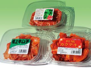ねぎキムチ・極上キムチ・和風カクテキ