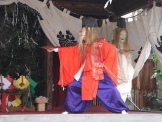 八坂神社太々神楽(イメージ)