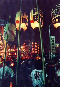 祖母井神社夏祭祇園祭