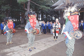 箱田獅子舞