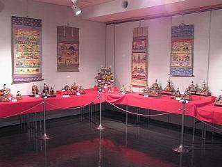 第5回雛飾りお宝展(飯能市郷土館の展示)