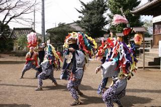 多和目天神社の獅子舞