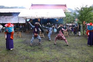 竹平の獅子舞