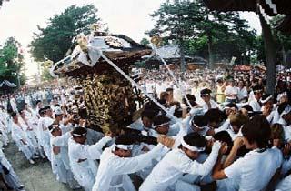 鶴谷八幡宮例大祭/安房国司祭(やわたんまち)