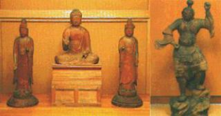 木造薬師如來坐像以及両脇侍立像附神將立像