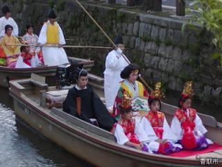 さわら雛舟と小江戸さわら春祭り