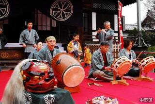 Saginomiya musical accompaniment