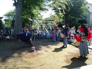 獅子舞(北野神社)