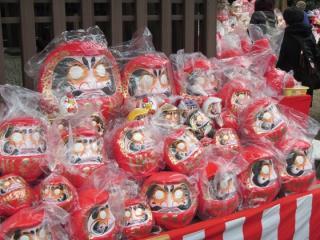 Jindaiji Temple Dharma Dolls Fair