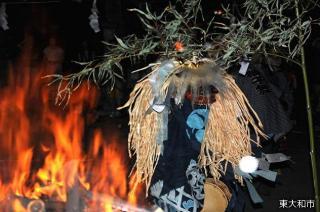 高木の獅子舞